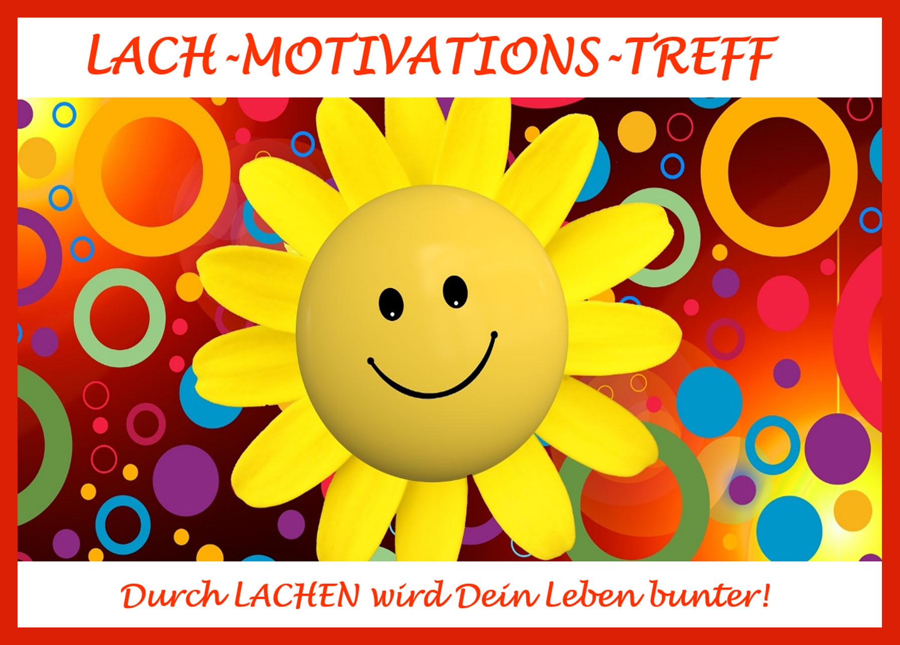 Lach-Motivations-Treff-Vorderseite