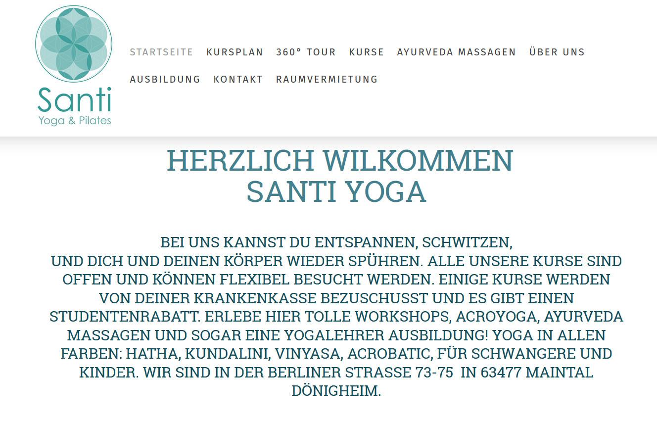 Santi yoga