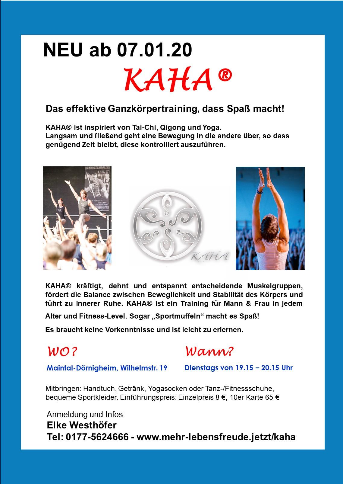 Plakat KAHA